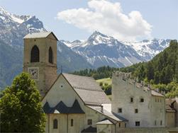 Guided tour in german of the convent S. Johann in Müstair